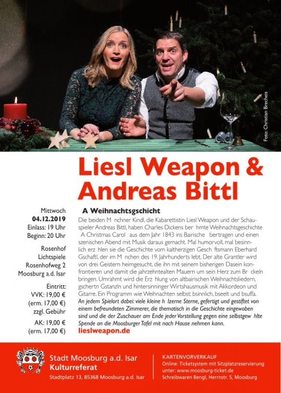 Liesl Weapon & Andreas Bittl 12-2019