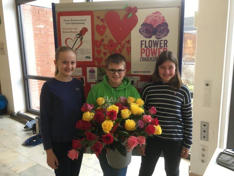 Flowerpower am Gymnasium